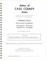 Title Page, Cass County 1978