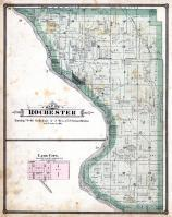 Rochester Township, Lime City, Cedar River, Cedar County 1885