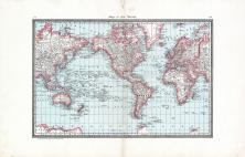 World Map, Cedar County 1885