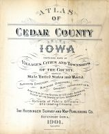 Title Page, Cedar County 1901