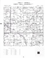 Cass - Southeast, Center - West, Cower - East, Iowa - North and Rochester - Northwest Townships, Cedar River, Cedar County 1977