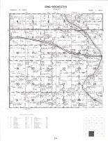 Iowa and Rochester Townships, Cedar River, Cedar County 1977