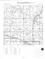 Massilon and Springfield - North Townships, Lowden, Cedar County 1977