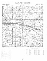 Sugar Creek and Rochester Townships, Cedar County 1977