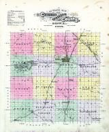 County Outline, Cerro Gordo County 1895