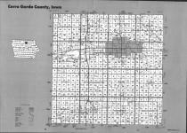 Index Map, Cerro Gordo County 1993