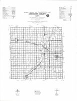 Cherokee County Highway Map, Cherokee County 1982