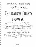 Title Page, Chickasaw County 1892