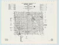 Bremer County Highway Map, Chickasaw County 1985
