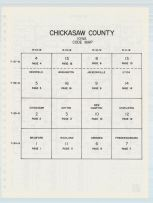 Chickasaw County Code Map, Chickasaw County 1985