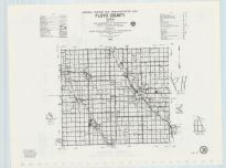 Floyd County Highway Map, Chickasaw County 1985