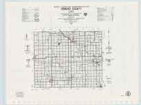 Howard County Highway Map, Chickasaw County 1985