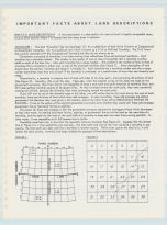 Land Descriptions, Chickasaw County 1985