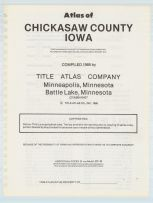 Title Page, Chickasaw County 1985