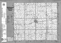 Index Map, Chickasaw County 1993