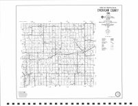 County Map 1988, Chickasaw County 1996