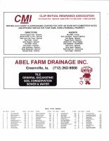Sioux Township - Small Tract Owners, Ad - Clay Mutual Insurance Asso., Abel Farm Drainage Inc., Clay County 2003
