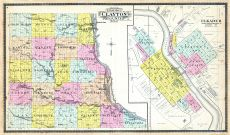 County Outline, Elkader, Clayton County 1902