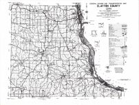 Clayton County Highway Map, Clayton County 1983