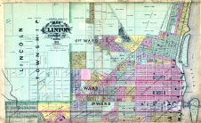 Clinton Street Map - North, Clinton County 1894
