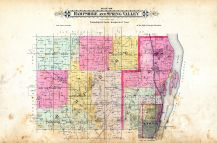 Hampshire and Spring Valley Townships, Clinton County 1894