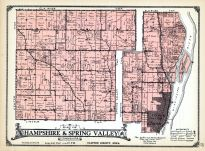 Hampshire and Spring Valley Townships, Clinton County 1925