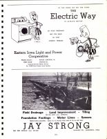 Ad - Eastern Iowa Light and Power, Jay Strong, Clinton County 1966