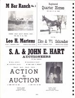 Ad - Leo H. Martens, Ike and Vi Schrader, S.A. and John E. Hart Auctioneers, Clinton County 1966