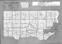 Index Map, Clinton County 1993