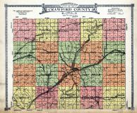 Crawford County Topographical Map, Crawford County 1920