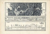 Panama Canal and Surrounding Territory - Topographical Relief Map, Crawford County 1920