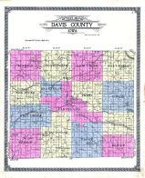 Outline Map, Davis County 1912