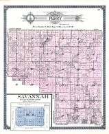 Perry Township, Savannah, Davis County 1912