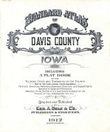 Title Page, Davis County 1912