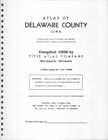 Title Page, Delaware County 1968