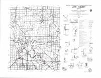 Linn Countly Highway Map, Delaware County 1988