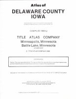 Title Page, Delaware County 1988