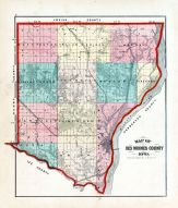 County Map, Des Moines County 1873