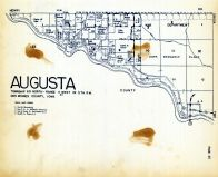 Augusta Township, Des Moines County 1949