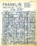 Franklin Township, Des Moines County 1949