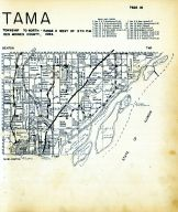 Tama Township, Des Moines County 1949