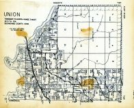 Union Township, Des Moines County 1949