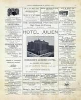 Hotel Julien, Jefferson House, Metropolitan Livery, Laude Butter and Eggs