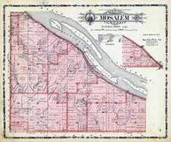 Mosalem Township, King, Round Island, Mississippi River, Massey, Dubuque County 1906