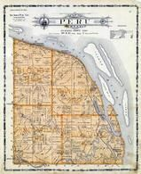 Puru Township, Sageville, Sherrill, Ainsworths Springs, Zoilicoffer Lake, Edmore Station, Dubuque County 1906