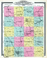 Fayette County Outline, Fayette County 1916