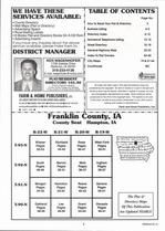 Index Map, Franklin County 2006
