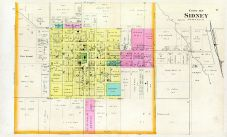 Sidney - City of, Fremont County 1891
