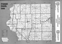 Index Map, Fremont County 1993
