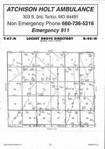 Map Image 029, Fremont County 2006